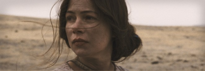 Michelle Williams in MEEK´S CUTOFF von Kelly Reichardt (USA, 2011)