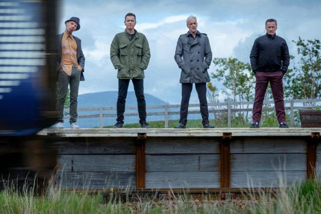 """Ewen Bremner, Ewan McGregor, Jonny Lee Miller und Robert Carlyle in  """"T2 Trainspotting"""" von Danny Boyle © Sony Pictures Releasing GmbH"""
