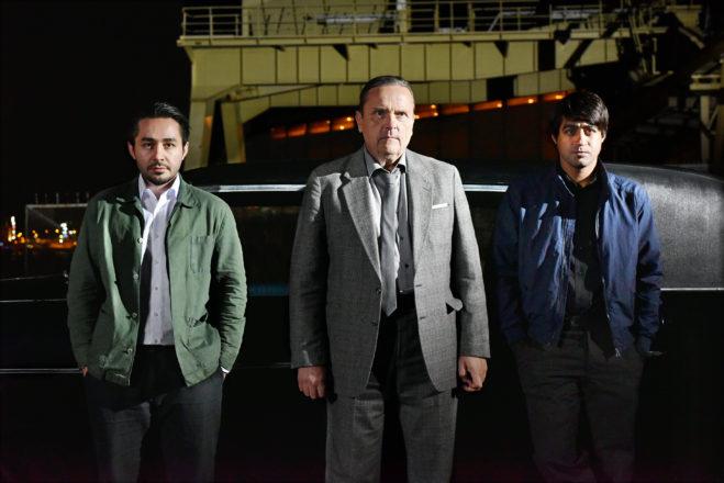 Sherwan Haji, Sakari Kuosmanen und Simon Hussein Al-Bazoon © Sputnik Oy | Fotograf: Malla Hukkanen